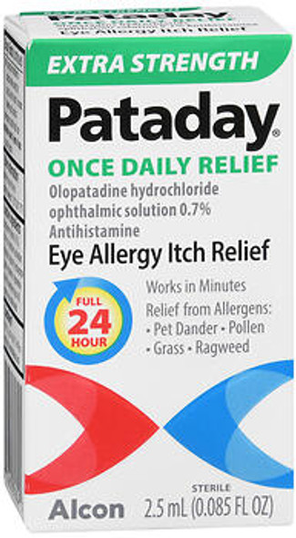 Pataday Eye Allergy Itch Relief Drops Extra Strength - 0.085 fl oz