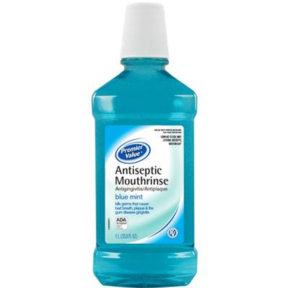 Premier Value Antiseptic Mouthwash - 33.8oz from The Online Drugstore