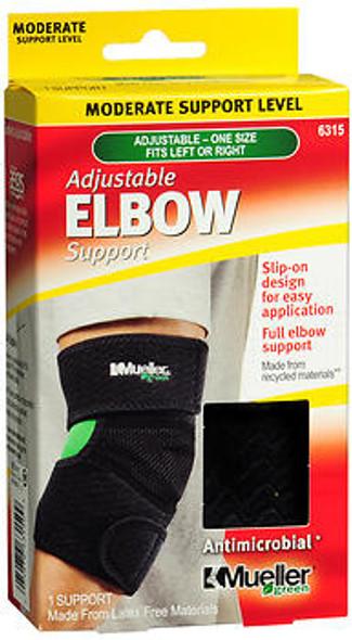 Mueller Green Adjustable Elbow Support Moderate 6315