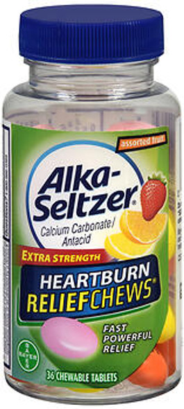 Alka-Seltzer Heartburn ReliefChews Tablets Assorted Fruit - 32 ct