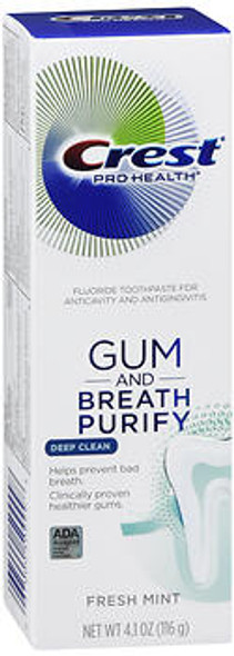 Crest Pro-Health Gum And Breath Purify Toothpaste Fresh Mint - 3.7 oz
