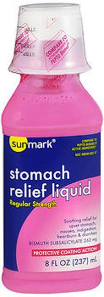 Sunmark Stomach Relief Liquid Regular Strength - 8 oz