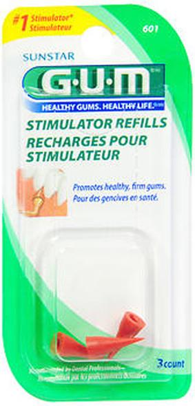 GUM Stimulator Refills - 3 ct
