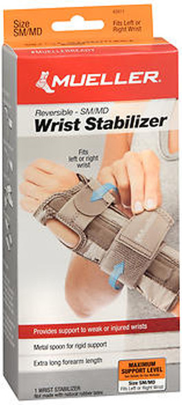 Mueller Carpal Tunnel Wrist Stabilizer Small/Medium - Each