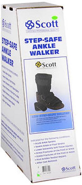 Scott Step-Safe Ankle Walker Low Medium- 1 each
