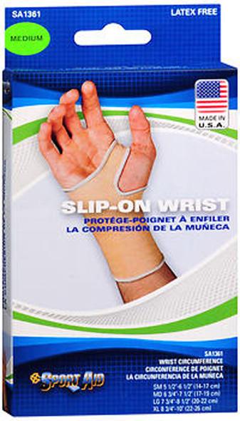Sport Slip-On Wrist Support Medium Latex Free - 1 each