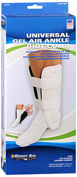 Sport Aid Gel Air Ankle (Hot/Cold) Support Trainer Universal - 1 each