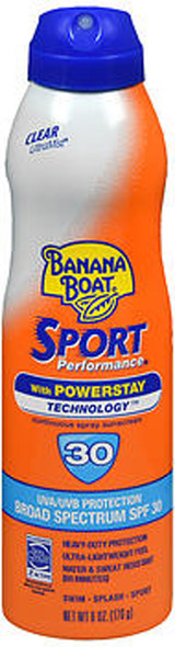 Banana Boat Sport Performance Continuous Spray SPF30 - 6 oz