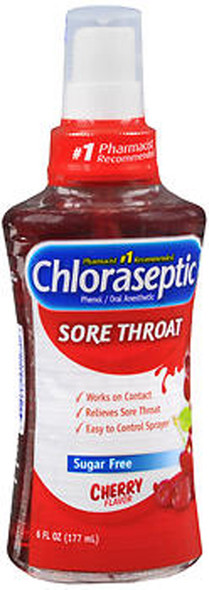 Chloraseptic Sore Throat Spray Cherry - 6 oz