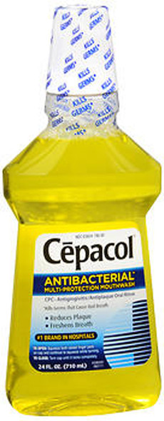 Cepacol Antibacterial Multi-Protection Mouthwash Original- 24 oz