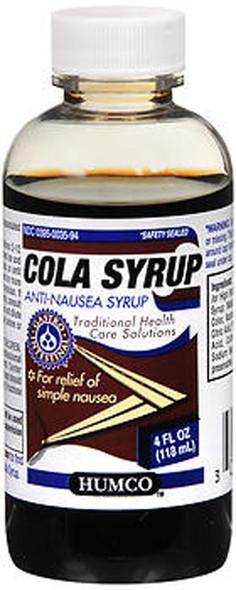 Humco Cola Syrup - 4 oz