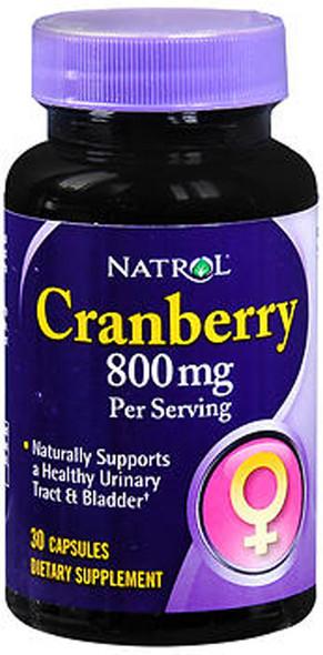 Natrol Cranberry 800 mg - 30 Capsules
