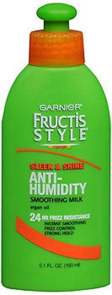 Garnier Fructis Style Sleek Shine Anti-Humidity Smoothing Milk - 5.1 oz