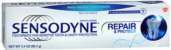 Sensodyne Repair & Protect Toothpaste for Sensitive Teeth & Cavity Protection - 3.4 oz