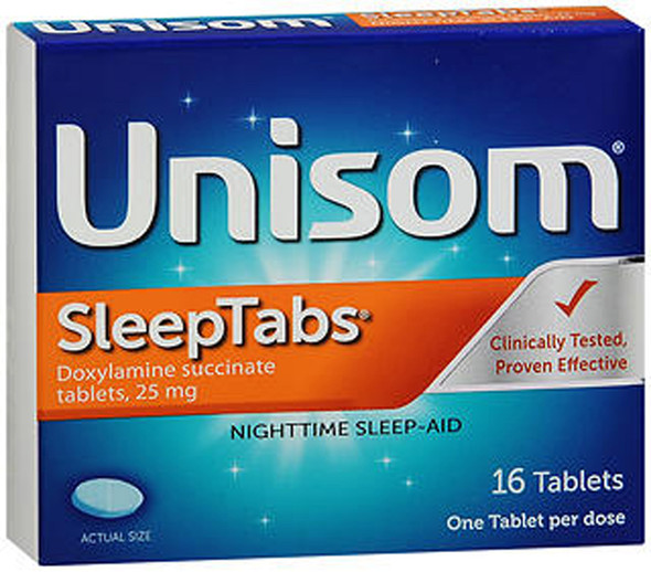 Unisom SleepTabs - 16 ct