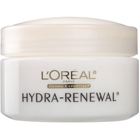 L'Oreal Hydra-Renewal Continuous Moisture Cream Dry/Sensitive Skin - 1.7 oz
