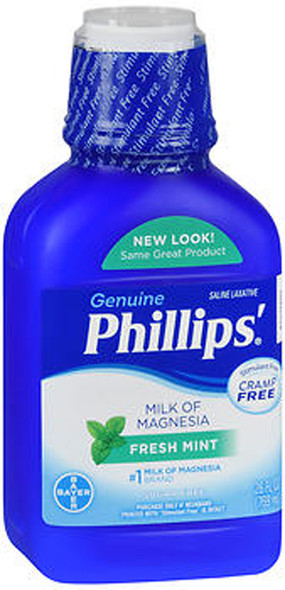 Phillips' Milk of Magnesia Fresh Mint - 26 oz