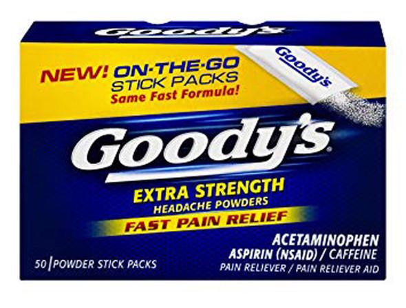 Goody's Headache Powders Pain Reliever Extra Strength - 50 ct