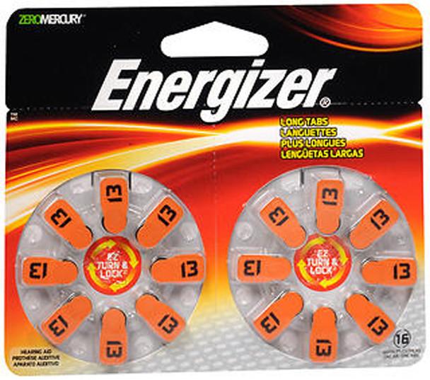 Energizer Zero Mercury Hearing Aid Batteries AZ13DP - 16 ct