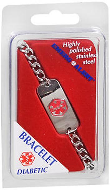 Emerg-Alert Bracelet Diabetic - Each