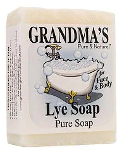 Grandma's Lye Face & Body Soap - 6 oz