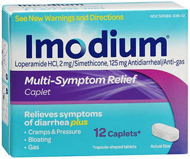 Imodium Multi-Symptom Relief Caplets - 12 Caplets