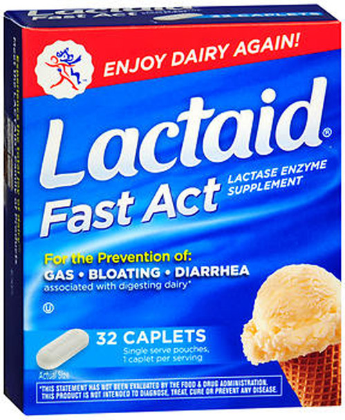 Lactaid Fast Act - 32 Caplets