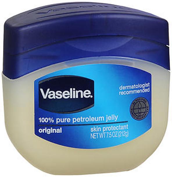 Vaseline, 100% Pure Petroleum Jelly, Original - 7.5 oz jar