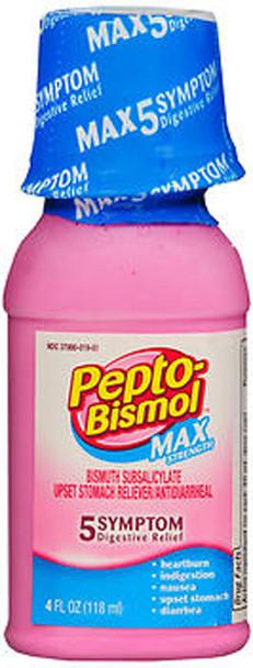 Pepto-Bismol Max Strength Liquid - 4 oz