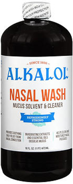 Alkalol Nasal Wash and Mucus Solvent - 16oz