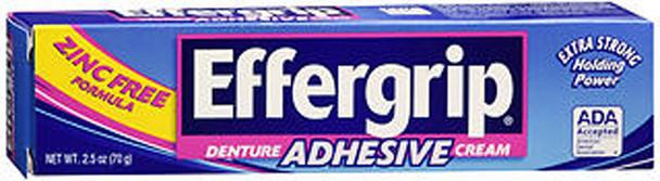 Effergrip Denture Adhesive Cream - 2.4 oz