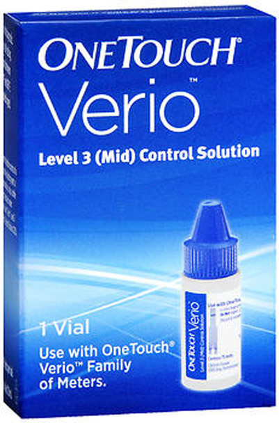 OneTouch Verio Level 3 (Mid) Control Solution - 1 vial