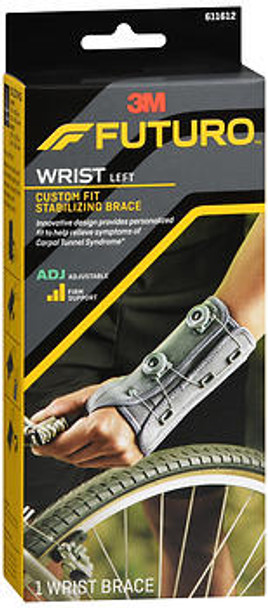 Futuro Custom Dial Wrist Stabilizer (611612EN) Adjustable Left Hand - 1 ea.