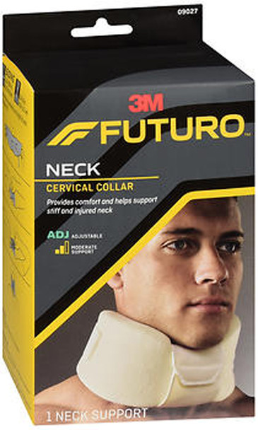 Futuro Soft Cervical Collar Neck Adjust To Fit Moderate Support
