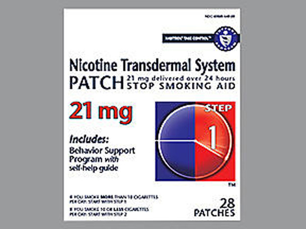 Habitrol Nicotine Transdermal System Patch 21 mg Step 1 - 28 ct