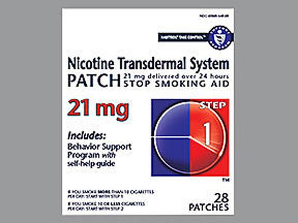 Habitrol Nicotine Transdermal System Patch 21 mg Step 1 - 28 ct