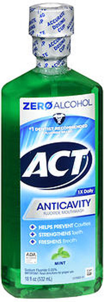 Act Anticavity Fluoride Rinse Mint - 18 oz