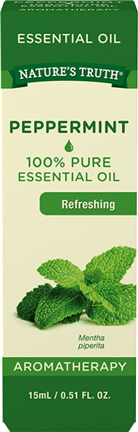 Nature's Truth Aromatherapy Essential Oil Peppermint - .5 oz