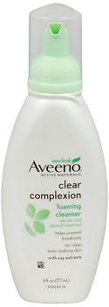 Aveeno Active Naturals Clear Complexion Foaming Cleanser - 6oz