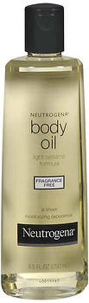 Neutrogena Body Oil Fragrance Free - 8.5 oz