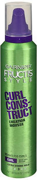 Garnier Fructis Style Curl Construct Mousse Extra Strong - 6.8 oz
