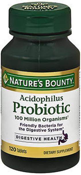 Nature's Bounty Acidophilus Probiotic Tablets - 120 Ea.