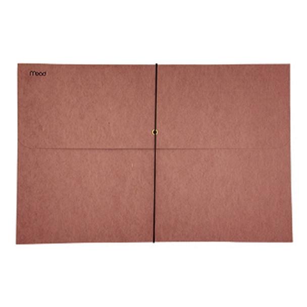 Expandable  Envelope W/Elastic Cord 1 Pocket, Legal - 1 Pkg