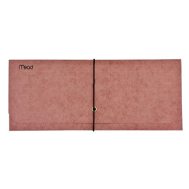 "Red Wallet Expanding Envelope, 10X4.5"""