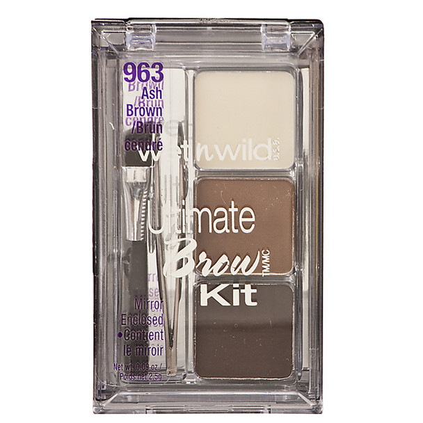 Wet N Wild Ultimate Eyebrow Kit, Ash Brown - 1 Pkg