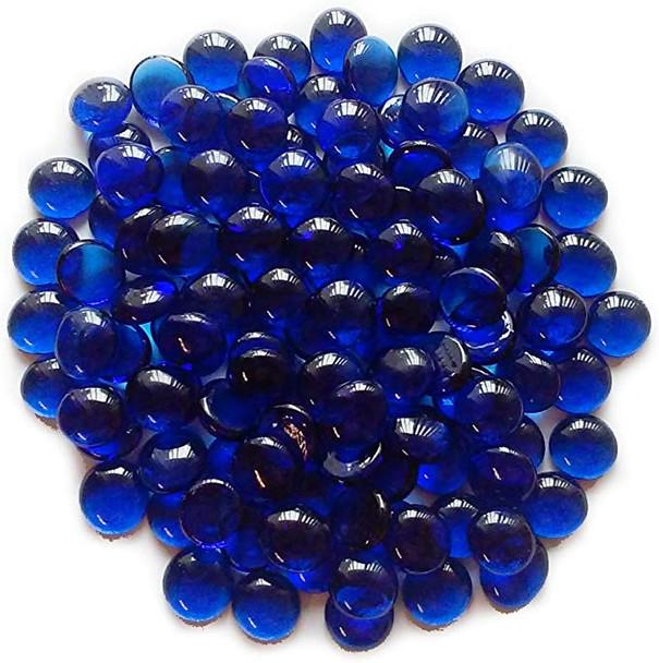 Plain Marbles, Cobalt Blue, 14Mm - 1 Bag