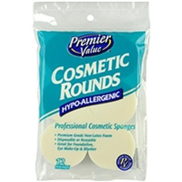 Premier Value Cosmetic Rounds - 12ct