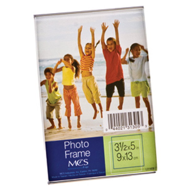 "Bent Acrylic Vertical Frame, Clear, 3.5X5"" - 1 Pkg"