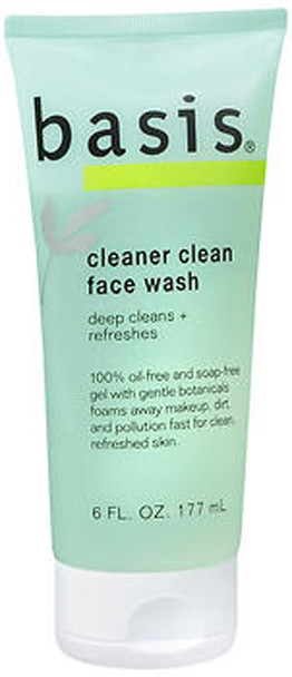 Basis Cleaner Clean Face Wash - 6 oz