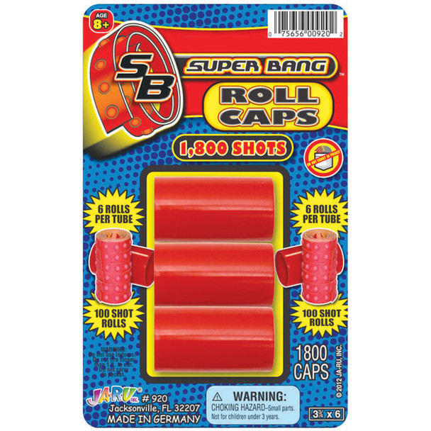 Big Blast Roll Caps - 1 Pkg